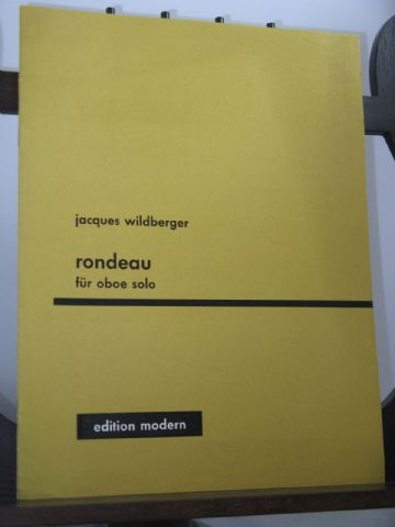 Wildberger J - Rondeau for Solo Oboe